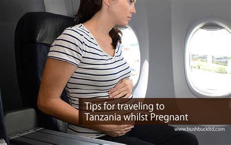 pregnant tanzania traveling tips whilst safari bushbuck trip