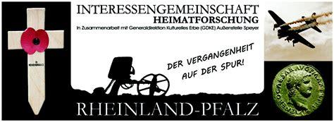 Sitemap  Igheimatforschung Rheinlandpfalz  Historical