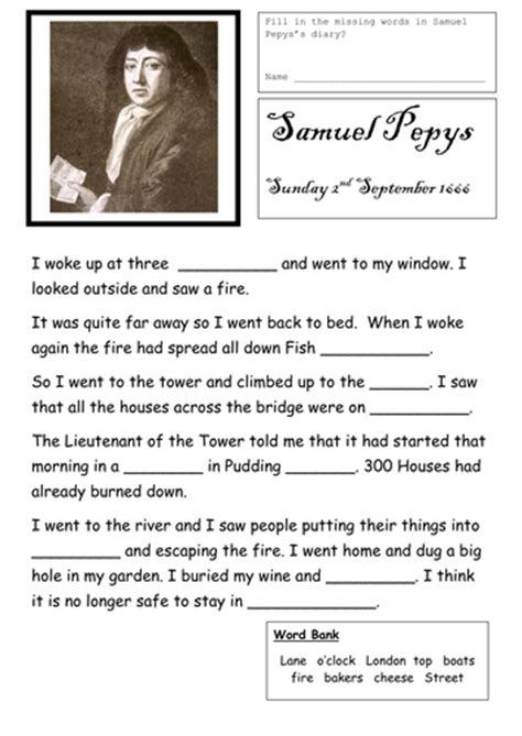great fire  term plan lessons resources