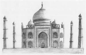 Taj Mahal Sketch by KarlLevy on DeviantArt