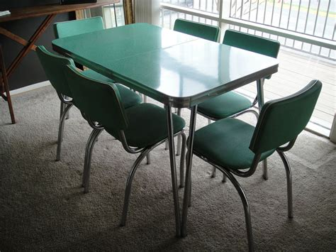 reserved  kitchen table  chairs mint dining set