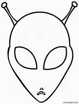 Alien Coloring Pages Space Printable Head Aliens Face Template Trippy Cool2bkids Colouring Print Printables Drawing Templates Discover sketch template