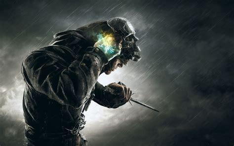 dishonored corvo skull mask hd games  wallpapers