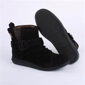 Black Rocket Dog Ankle Boots