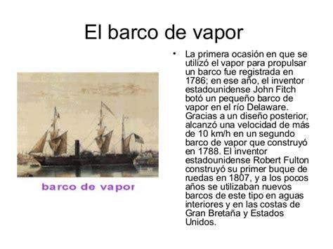 Primer Barco De Vapor Revolucion Industrial by La Revolucion Industrial Terminado 2