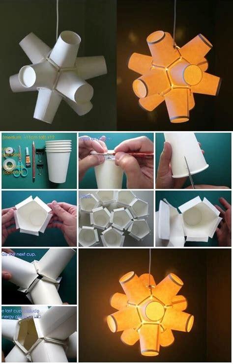 amazing diy paper craft ideas step  stepcraft ideas paper cup crafts paper lanterns