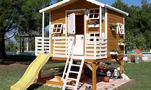 Construire Sa Cabane : construire une cabane en bois pour enfant 5 projets diy ~ Melissatoandfro.com Idées de Décoration