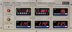 Thermal Resistance Test Laboratory