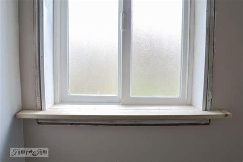 How To Build A Window Sill by How To Make A Farmhouse Window With Moulding My Stuff