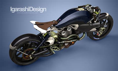 Turbo V Twin Concept Motorcycle By Igarashi Design