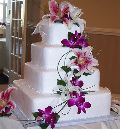 hochzeitstorten fondant tropical hawaiian theme cake designs
