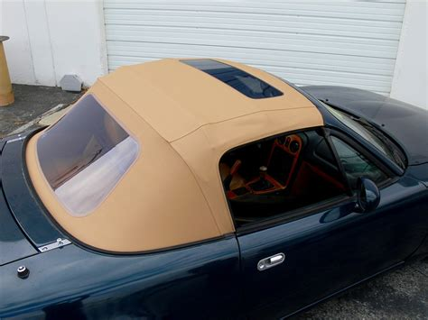 miata   convertible top  sundroof window black