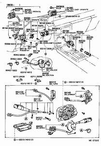 Toyota Cressida Breaker Assembly  Wiring Circuit  No  1  Wiring Circuit  No  2