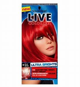 Schwarzkopf Live Color Xxl 92 Pillar Box Red Semi