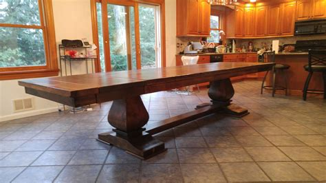 12ft. Hand Crafted Dining Table