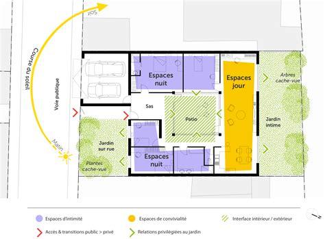 plan de maison plain pied 3 chambres gratuit plan maison plain pied 4 chambres ooreka