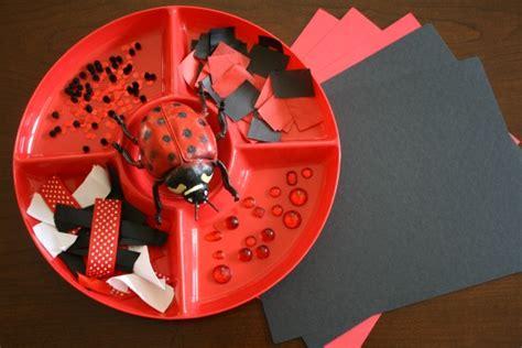 home preschool schedule 2013 2014 564   Ladybug Art Activity
