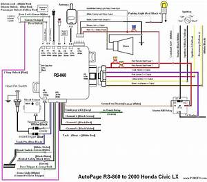 2000 Honda Civic Car Alarm Wiring Diagram
