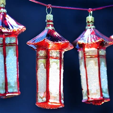 asian lantern ornament asian christmas ornaments by