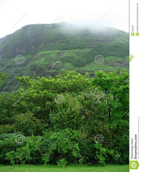 Rain Clouds Over Mountain
