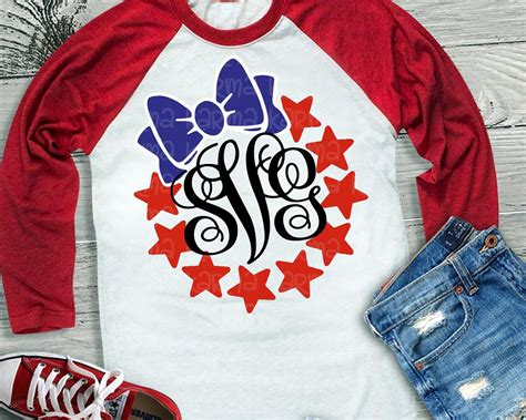 Used the file on my laser and it cut perfectly. 4th of july svg JUly 4th svg star svg monogram svg SVG ...