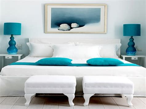 Interior Bedroom Design White Gray And Turquoise Bedroom