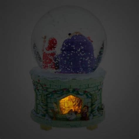 of light up musical snow globe