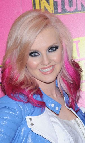 Little Mixs Perrie Edwards Swaps Bright Pink Hair For A