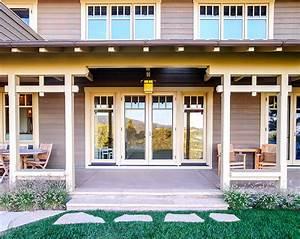 Portola Valley Residence 2 - Craftsman - Porch - san