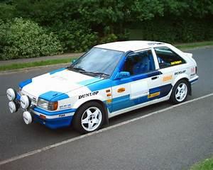 Mazda 323 BF 4WD Turbo Group A 1986 Racing Cars