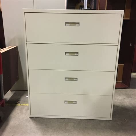 used lateral file used 4 drawer lateral file cabinet 092017b thrifty