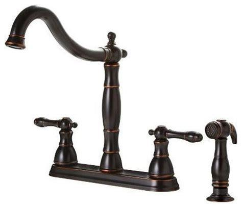 vintage style kitchen faucets premier rubbed bronze antique style 4 kitchen