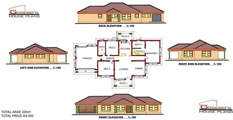 house plans limpopo modern house