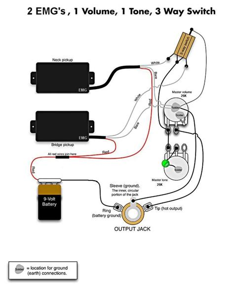 emg wiring diagram emg active wiring diagram 32 wiring diagram