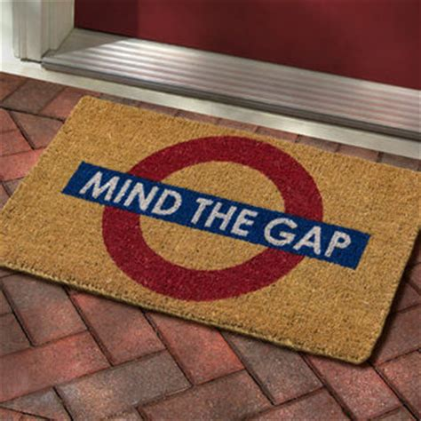 mind the gap doormat america shop mind the gap doormat from