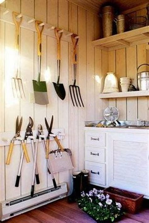 Practical Garden Shed Storage Ideas Digsdigs