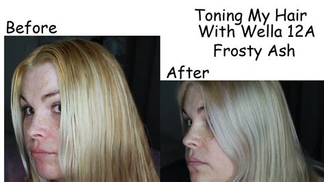Toning My Hair With Wella 12a Frosty Ash
