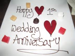 1st wedding anniversary whimsical wishes our first wedding anniversary