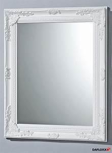 Spiegel Weiß Holzrahmen : hochwertiger wandspiegel in weiss modell barock 82x62cm spiegel barockspiegel ebay ~ Indierocktalk.com Haus und Dekorationen