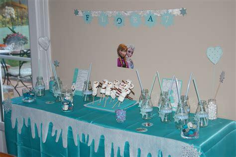 un anniversaire reine des neiges moineauscrap