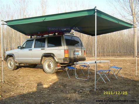 awning for cer trailer tent awnings rainwear
