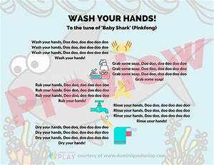 washing baby shark posters dominique dunlop