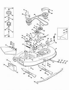 I Need A Diagram For A Lt4200 Deck Belt