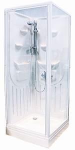 Cabine De Douche 80x80 : cabine de douche int grale marina 80x80 cm ~ Edinachiropracticcenter.com Idées de Décoration