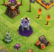 Clash of Clans Level 8 Wizard Tower