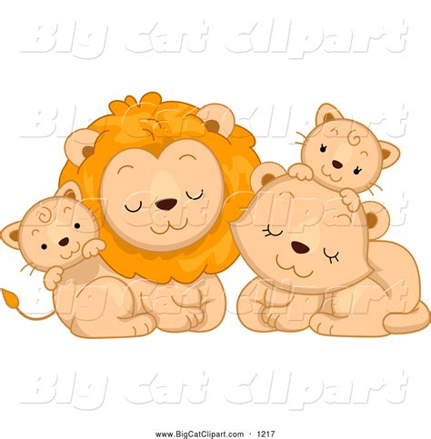 royalty  stock big cat designs  cute animals