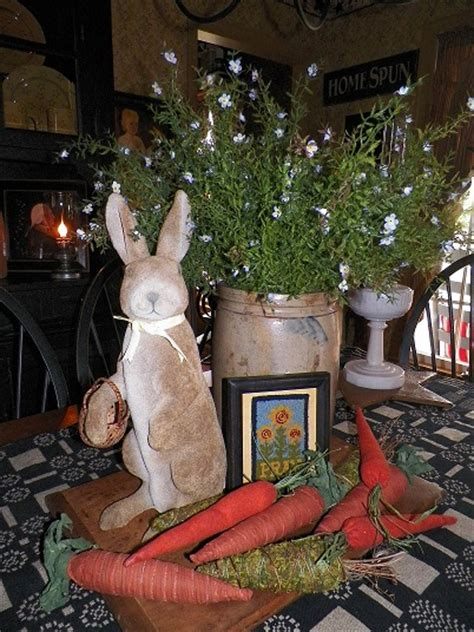 primitive spring decorating easter pinterest