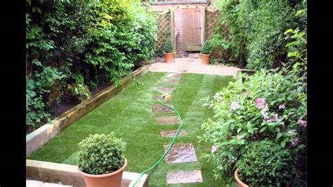 Small space garden design ideas - YouTube