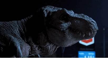 Park Jurassic Raptor Having Rex Dinosaur Trex