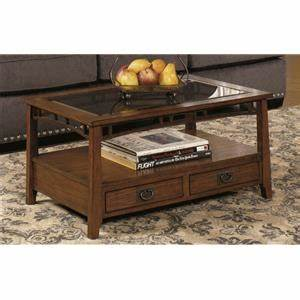 coaster avondale rustic coffee table with wood shelf and With avondale coffee table
